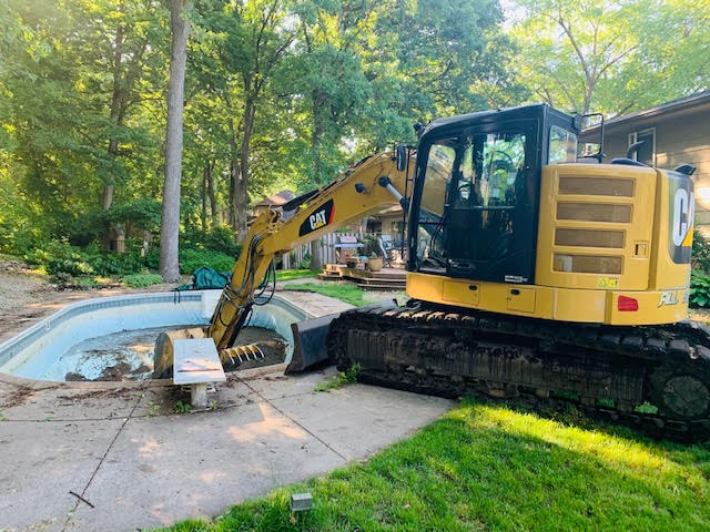 pool removal services in MN
