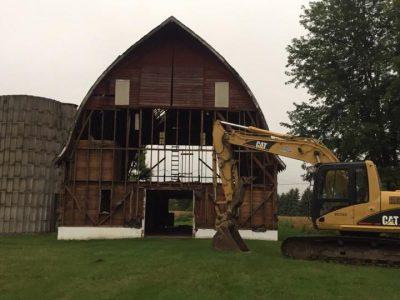 barn tear down services