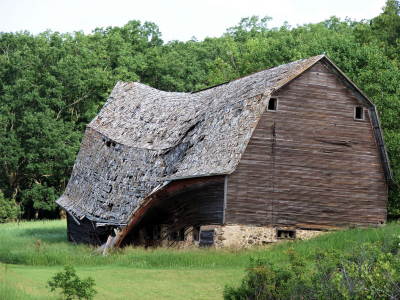 Barn demolition and tear down services