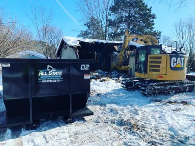 Roll Off Dumpster services in Twin Cities